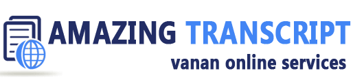 Transcription samples | Sample transcription